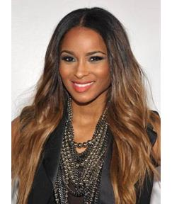 Ciara Long Loose Wavy Full Lace Wigs Human Hair 22 Inches