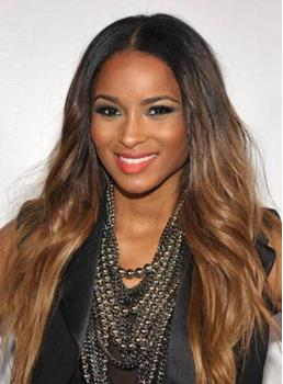 Soft Fascinating Ciara Hairstyle Long Loose Wavy Full Lace Wig 100% Human Hair 22 Inches