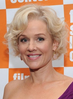 Custom Penelope Annmiller Elegant Hairstyle Short Curly Lace Wig 100% Human Hair 8 Inches