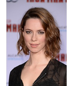 Rebecca Hall Medium Wavy Lace Front Wigs Human Hair 12 Inches