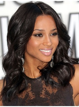 Ciara inspired hair wigsbuy premier tailored ciara medium wavy lace wig 100 real human hair 16 inches pmusecretfo Gallery