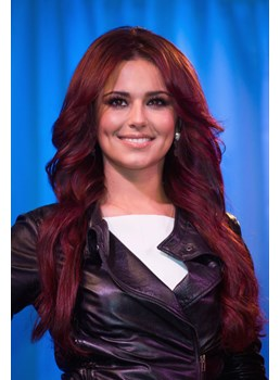 Premier Natural Chery Coel Red Long Loose Wavy Lace Wig 100% Real Human Hair 20 Inches
