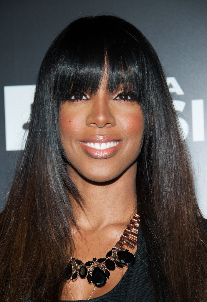 Kelly Rowland Hairstyle Elegant Pretty Long Straight 100