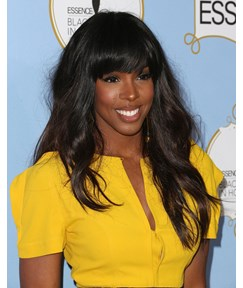 Kelly Rowland Fluffy Fashion Top Quality Synthetic Hair Wig 22 Inches