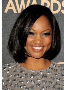 Short Wavy Bob Hairstyle Synthetic Hair Lace Front Wigs 10 Inches