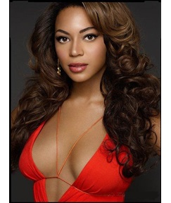 Beyonce Last Long Stylish lovely Long Curly 100% Real Human Hair 20 Inches