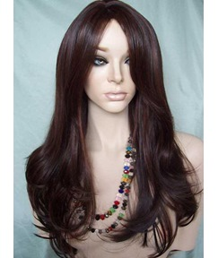 Drendsetting Charming Long Layered Loose Wavy Heat Resistant Lace Front Wig 20 Inches