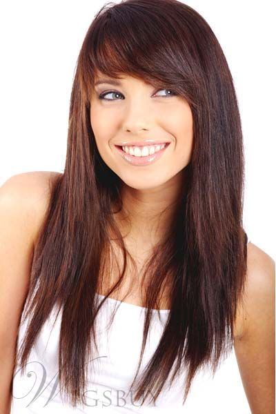 Lovely Pretty Best Quality Long Straight Synthetic Hair Wig 22 Inches