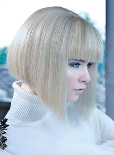 New Arrival Glamorous Inverted Bob 100% Real Human Hair 10 Inches
