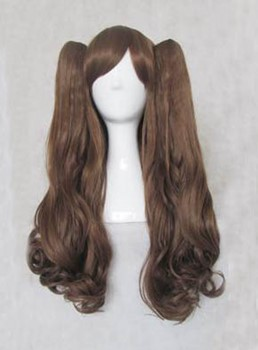 Cheap Lovely Long Curly Lolita Cosplay Wig