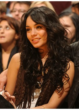 Vanessa Hudgens 24 Inches Heat Resistant Synthetic Lace Front Wig Curly