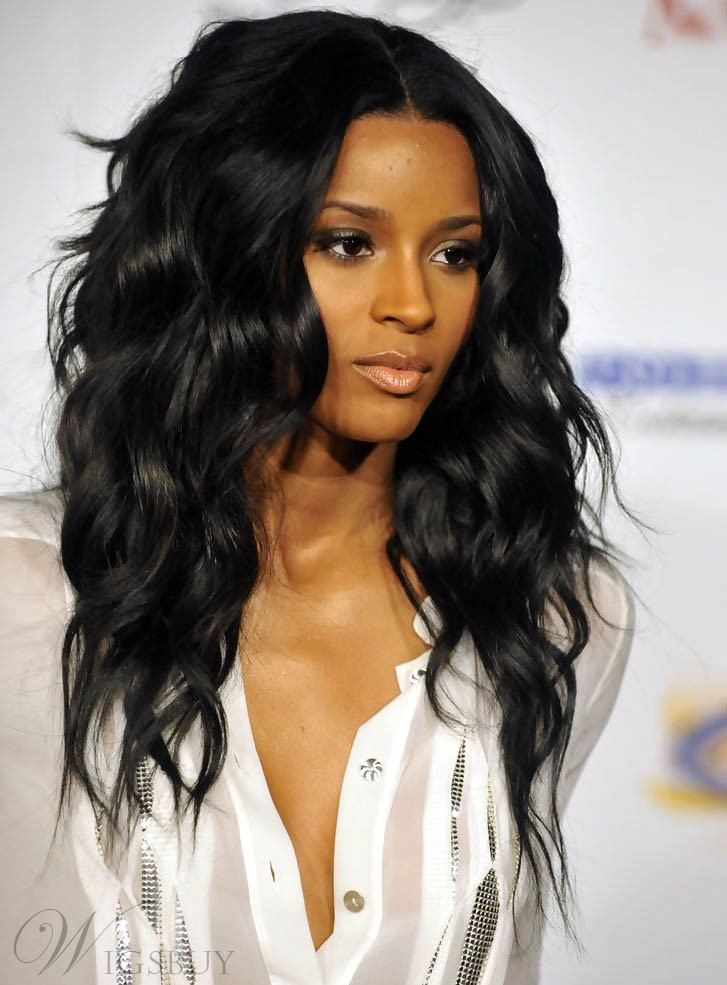 Ciara Top Quality 100% Indian Human Hair Glueless Lace Front Wig 20 Inches