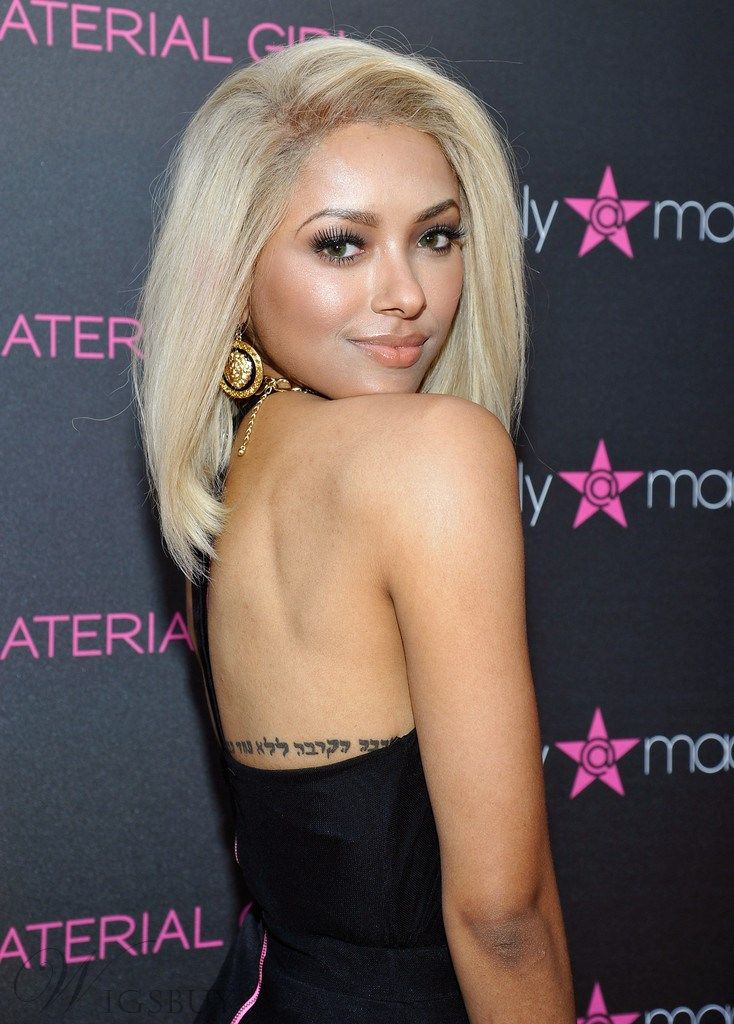 Kat Graham Polished Luxury Gorgeous Medium Straight