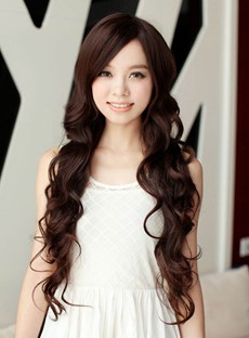 Extra Long Big Curly Heat Resistant Synthetic Wig