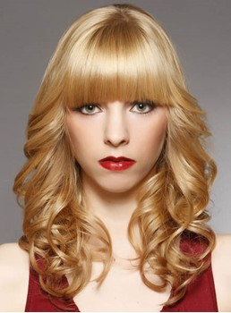 New Arrival Cheap Top Quality Heat Resistant Synthetic Wig Body Curly 16 Inches