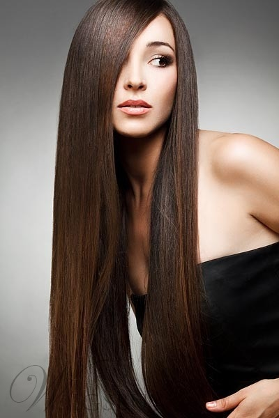 Best Elegant Natural Super Long Straight Lace Front Wig 100% Real Human Hair 26 Inches
