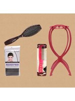 Specialized Wig tools Set Anti Electrostatic Steel Comb Stand and Cap