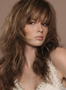 Long Layered Trends Long Loose Wavy 18 Inches 100% Human Hair Wig