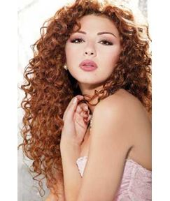 Boutique Fascinating Inexpensive Long Curly Lace Front Wig 100% Real Human Hair 24 Inches