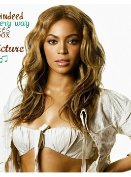 Beyonce Fluffy Elegante Carefree Medium Wavy Lace Front Wig 100% Real Human Hair 16 Inches