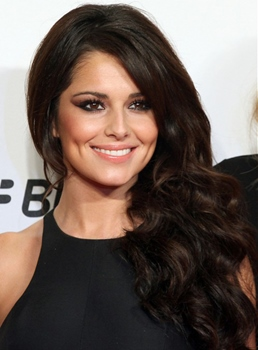 Cheryl Fernandez Long Body Curly Lace Wigs Human Hair 18 Inches