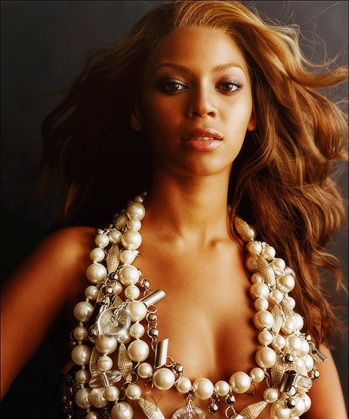 Beyonce Long Wavy Lace Front Wigs Human Hair 20 Inches