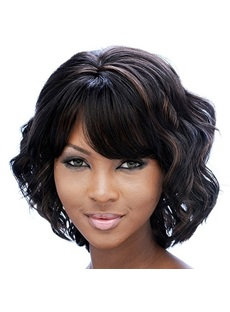 Best Selling Short Human Hair Capless Wig 10 Inches