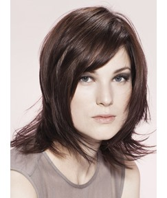 New Arrival Professional Short Straight Lace Wig 100% Human Hair 12 Inches