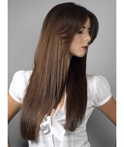 Premier Best Quality Long Silky Straight Full Lace Wig 100% Human Hair 22 Inches