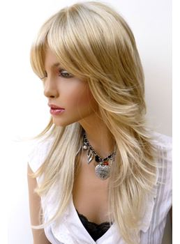Hot Sale Top Quality Heat Resistant Synthetic Wig 20 Inches Loose Wavy