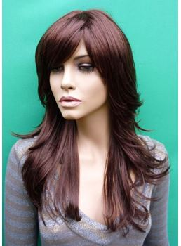 Hot Sale Top Quality Elegant Loose Wavy Heat Resistant Wig 18 Inches