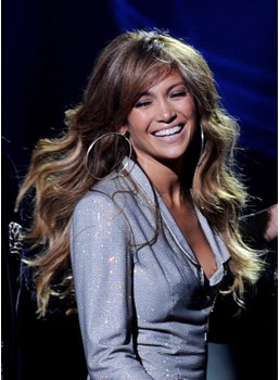 Jennifer Lopez Hairstyle Natural Premier Amazing Long Wavy Perfect Synthetic Hair 24 Inches