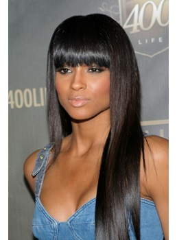 Ciara Simple Attractive Elegant Long Straight 100% Human Hair 20 Inches