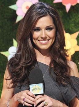 Best Custom Cheryl Cole Hairstyle 20 Inches Loose Body Wavy Full Lace Wig 100% Human Hair