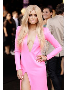 Gorgeous Custom Havana Brown Hairstyle Long Straight Lace Front Wig 100% Real Human Hair 22 Inches