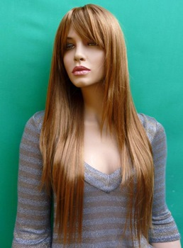 New Arrival Custom Silky Smooth Straight 24 Inches Heat Resistant Synthetic Wig