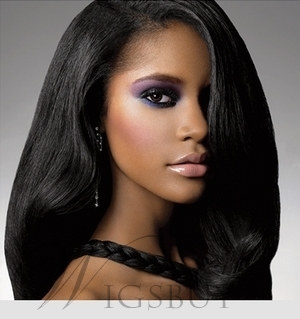 New Trends Human Hair Lace Front 150% Density Long Wigs 20 Inches