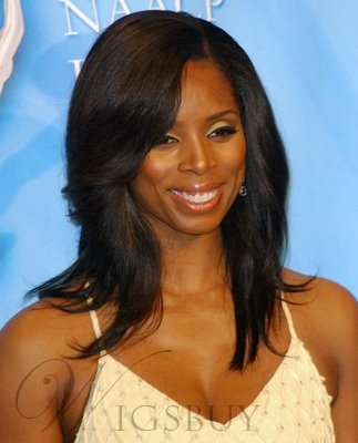 Elegant Custom Hand Knotted Natural Medium Straight Lace Wig 14 Inches
