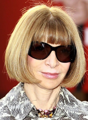 Custom Anna Wintour Classic Bob Hairstyle Straight 100% Indian Remy ...