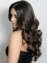 Best Luxury 22 Inches 100% Human Hair Long Body Curly Full Lace Wig