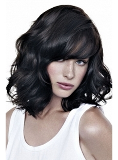 Super Glamour Custom 100% Human Real Hand Tied Hair 14 Inches Wig