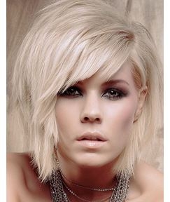 Layered Straight Short 100% Human Hair Bob Hairstyle Wig 10 Inches