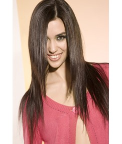 Super Comfortable Soft Silky Straight Layered 18 Inches Full Lace Wig 100% Human Hair