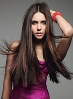 Pretty Glamour Long Silky Straight Silky Straight 100% Human Hair Lace Wig 24 Inches
