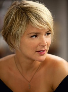 Pretty Amazing Smart Short Layered Cut 100% Human Hair Full Lace Wig
