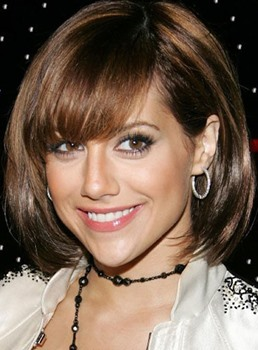 Sweet Custom Carefree Short Straight Bob Hairstyle 100% Human Hair Full Lace Wig 10 Inches