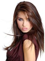 Hot Sale Natural Custom Long Layered Straight 100% Human Hair Full Lace Wig 18 Inches