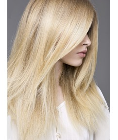 Top Quality Amazing Boutique Long Silky Straight Blonde 100% Human Hair Full Lace Wig 16 Inches