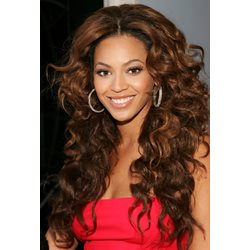Beyonce Long Curly Lace Front Wigs 100% Human Hair 24 Inches