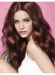 Smooth Sexy Lace Front Medium Loose Wave Synthetic Wig 22 Inches